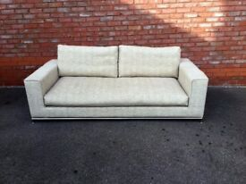 Large 3-seater sofa for sale. Good condition, £120