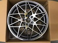 """BMW 19"""" M4 CSL ALLOY WHEELS BRAND NEW SET OF 4 STAGGERED"""