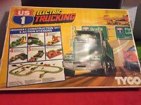 Tyco Electric trucking like scalextric