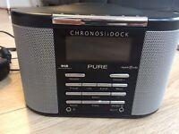 Chronos iDock DAB Digital Alarm Clock Radio