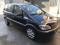 Vauxhall zafira club 1.6 petrol 7-seater mpv! 51-plate! Mot july! Mint runner and drive! £450!!