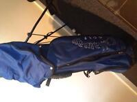 Callaway x-14 irons driver 3&5 wood plus bag