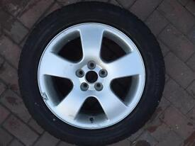 "16"" 5x100 Audi A3 replacement alloy/spare with Pirelli tyre! A3 1.8T"