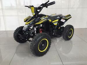 New kids 1000w Electric mini ATV 36V Quad with Reverse Adjustable speed, Matching rims, 4 Wheeler great gift cheap price