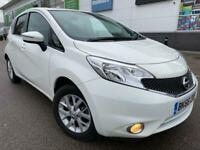 2016 Nissan Note 1.2 Acenta petrol