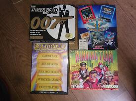 Commodore 64c plus large game bundle. C64. Retro.