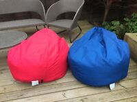 *2 large beanbags for sale*