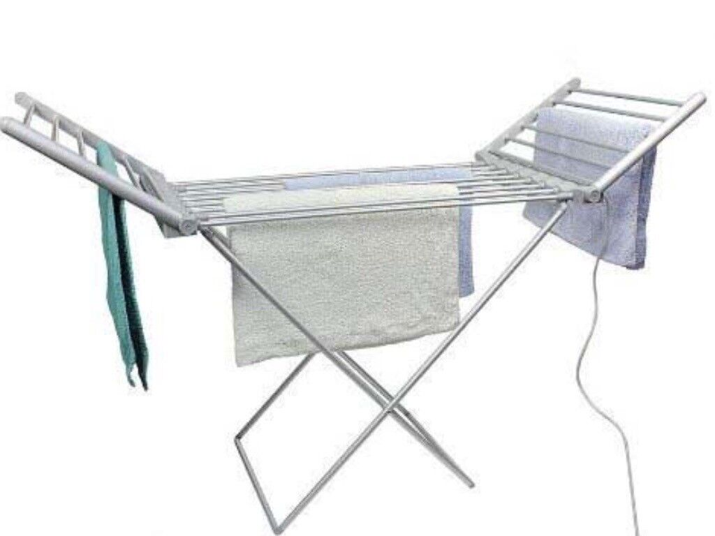 Electric Heated Folding Clothes Airer Dryer