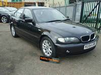 2004 BMW 3 SERIES 318 I 4 DOOR SALOON MANUAL PETROL IN BLACK