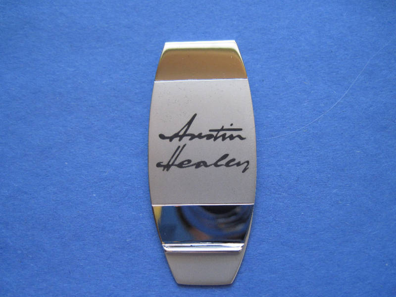 AUSTIN HEALEY     -  money clip , original box