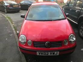 VW POLO 2002 CAT C mot till 29May19