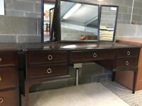 STAG Dressing Table & Chest of Drawers
