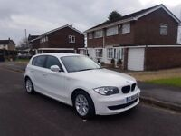 2010 BMW 116D ES,6 SPEED MANUAL,30£ TAX A YEAR,12 MONTHS MOT,1 FORMER KEEPER,2 KEYS,07707755411