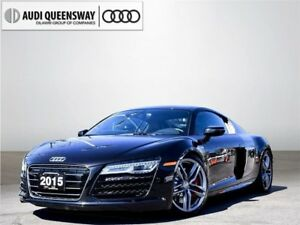2015 Audi R8 5.2, V10 Supercar, Clean Carproof