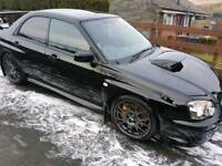 2004 subaru impreza sti widetrack 6speed (dccd)