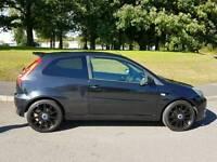 Ford Fiesta ST 2.0 Black 07 Plate