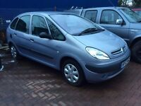 BARGAIN Citroen Picasso, TRADE Car to CLEAR, spares or repair no mot, New battery and spare clutch!