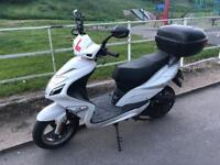 Direct Bikes 50cc Spyder (Owned from new for less than 3 months).
