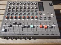 Sony MXP-210 Studio Broadcast Recording Sidecar Mixer w/ Direct Outs Vintage Analog Mic Preamps