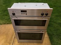 Neff Electric Silver Double Oven FD8211, In Fantastic Condition!