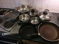 Pots and pans and tools
