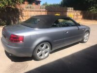 Very well looked after Audi A4 cabriolet, low mileage, 2 previous owners