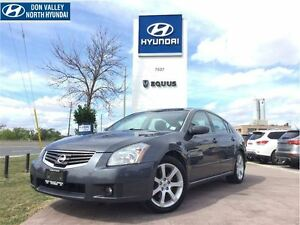 2007 Nissan Maxima 3.5 SE - Bose® AUDIO PACKAGE, LEATHER SEATS
