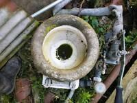 Antique boat toilet