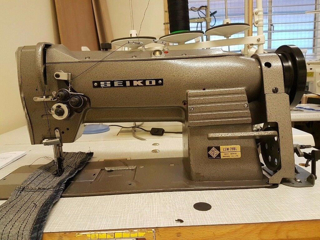 Seiko Lsw 28bl Industrial Walking Foot Leather Upholstery Sewing