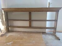 Antique shelves with hooks