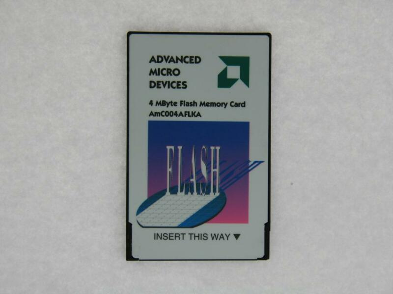 AMC004AFLKA AMD 4MB Flash Memory Card