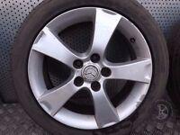 Mazda 3 (2003-2009) Single Alloy Spare Wheel 205/50 R17 ref.7M27/2
