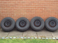 VW T4 Alloys and tyres off road/ all terrain