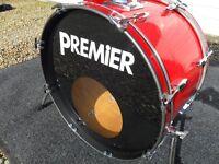 Vintage Premier 4 drum kit
