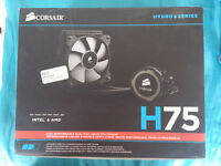 Corsair H75 All in One Cpu Water Cooler