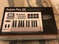 M-audio axiom pro 25 new condition midi keyboard