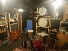 Rehearsal Space for monthly hire 24 hour sole access BS2
