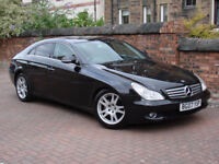 FINANCE AVAILABLE!! 2007 MERCEDES-BENZ 3.0 CLS320 CDI 7G-Tronic 4dr AUTO, FULL LEATHER, AA WARRANTY