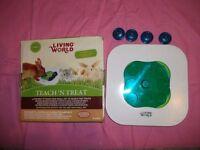 Rabbit Guinea Pig Cat Dog Teach and Treat Activity Toy Second Hand Cheap Bargin