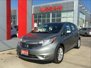 2014 Nissan Versa Note SL, heated front seats, Bluetooth, backup
