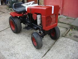 tractor bolens model 1250 petrol engine start on pull cord ready to use