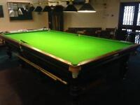 12ft Snooker Table