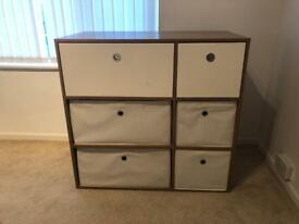 Wooden Chest Draw 6 Draws