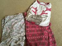 Girls pyjamas aged 12/13