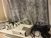 Microsoft white Xbox 360 console bundle