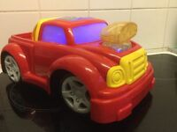 MUSICAL LIT UP TOY CAR - BATTERY OPERATED