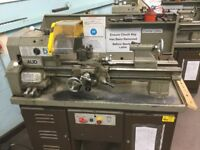 Boxford AUD Centre Lathe - only been used in a school.