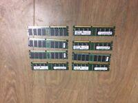 8GB KIT 8X 1GB Apple iMac G5 Power Mac G5 Macintosh PC3200 400 Mhz Memory Ram