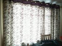 2 Pair Curtains