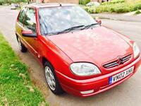 Saxo 1.0 8 month mot 12 month tax only £30 lady owner Very Reliable car £350